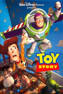 Toy Story 1 Film Poster